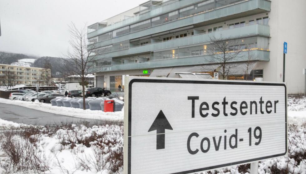 Det er registrert 105 smittede i Oslo siste døgn. Det er ti mer enn gjennomsnittet de foregående sju dagene. Det er nå mest smitte i Sagene, og nest mest på Stovner (bildet). Foto: Terje Pedersen / NTB