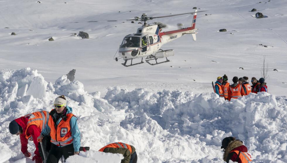 Snøskredfaren er betydelig over store deler av landet i det vi går inn den første av to vinterferieuker. Foto: Heiko Junge/NTB