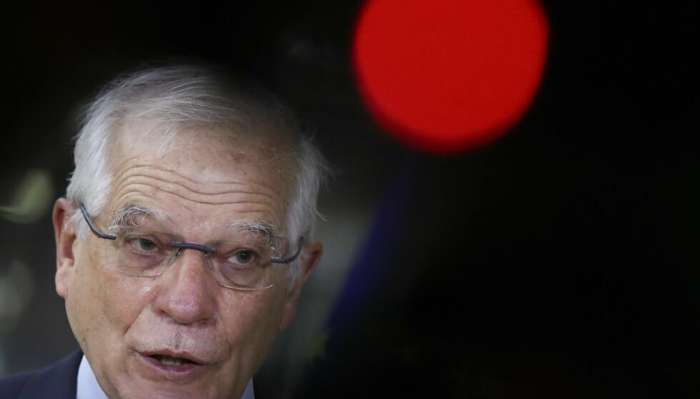 EUs utenrikssjef Josep Borrell. Foto: Yves Herman/AP/NTB