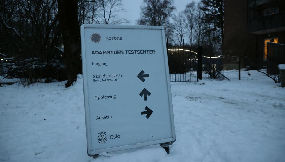 Det er registrert 151 smittede i Oslo siste døgn. Det er 38 mer enn gjennomsnittet de foregående sju dagene. Foto: Ørn E. Borgen / NTB