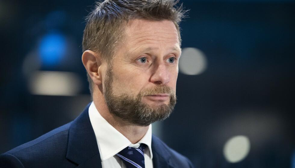 Helse- og omsorgsminister Bent Høie (H) er bekymret for at smittetallene øker. Men han har fortsatt håp om en tilnærmet normal sommer. Foto: Berit Roald / NTB