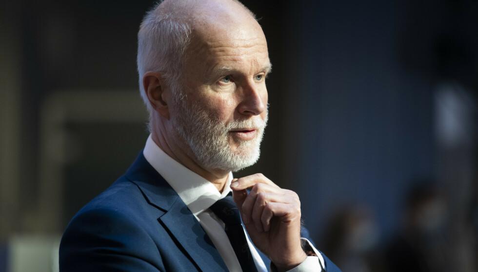 Helsedirektør Bjørn Guldvog er bekymret for smitteutviklingen i Oslo. Foto: Berit Roald / NTB