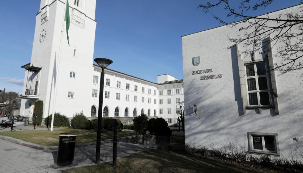 Formannskapet i Bærum skal i løpet av de nærmeste dagene vurdere hvilke tiltak som skal innføres i kommunen. Illustrasjonsfoto: Lise Åserud/NTB