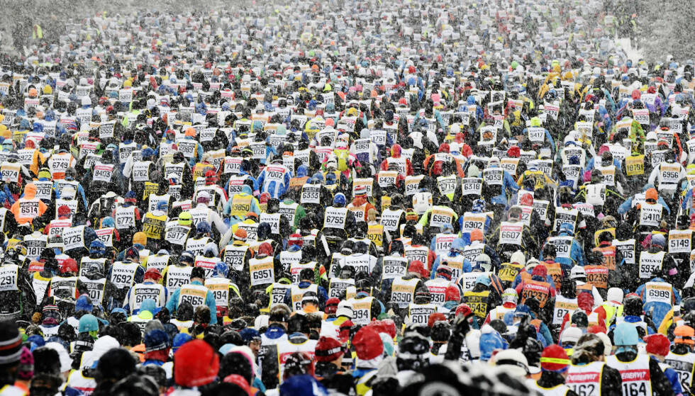 Tusenvis av mennesker deltar hvert år i Vasaloppet. Foto:Ulf Palm / TT / NTB