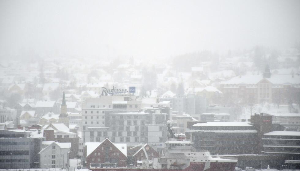 Tromsø kan regne med mer av dette i løpet av helga. Foto: Rune Stoltz Bertinussen / NTB