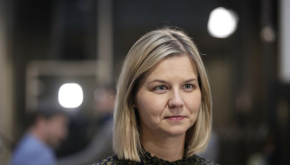 Kunnskaps- og integreringsminister Guri Melby (V). Foto: Berit Roald / NTB