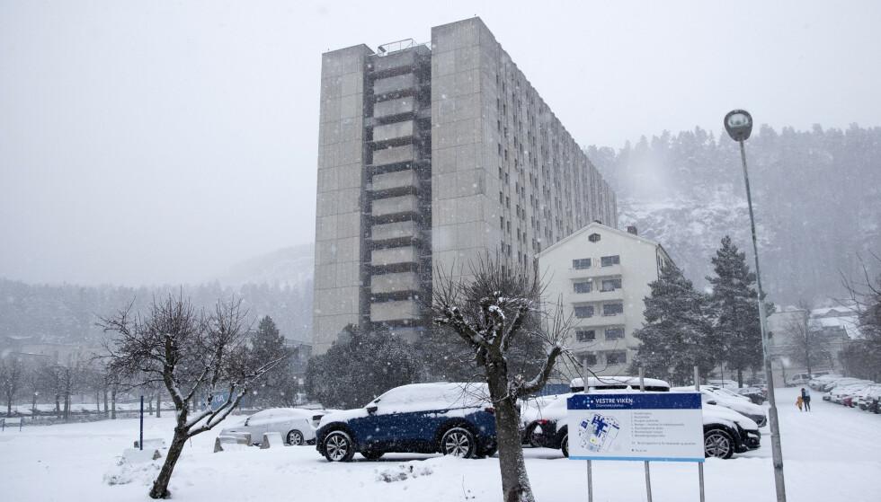 Drammen sykehus. Foto: Terje Bendiksby / NTB