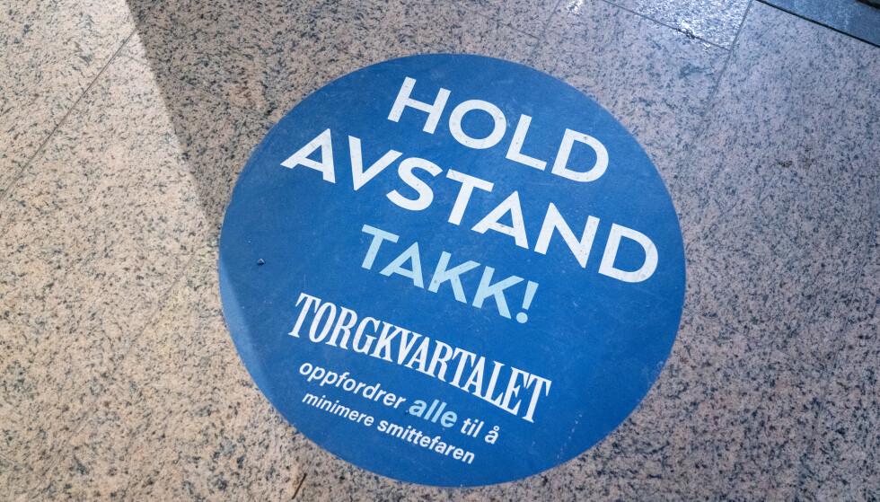 Søndag ble det registrert over dobbelt så mange koronasmittede i Norge som søndag for en uke siden. Foto: Gorm Kallestad / NTB