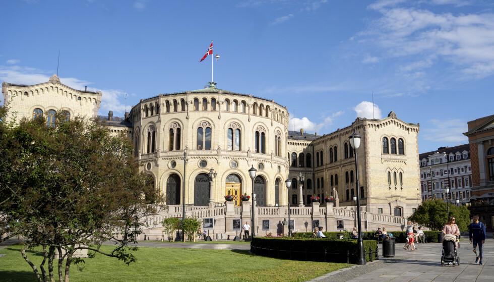 Stortinget har holdt restauranten åpen etter at serveringssteder i Oslo ble besluttet stengt. Foto: Fredrik Hagen / NTB