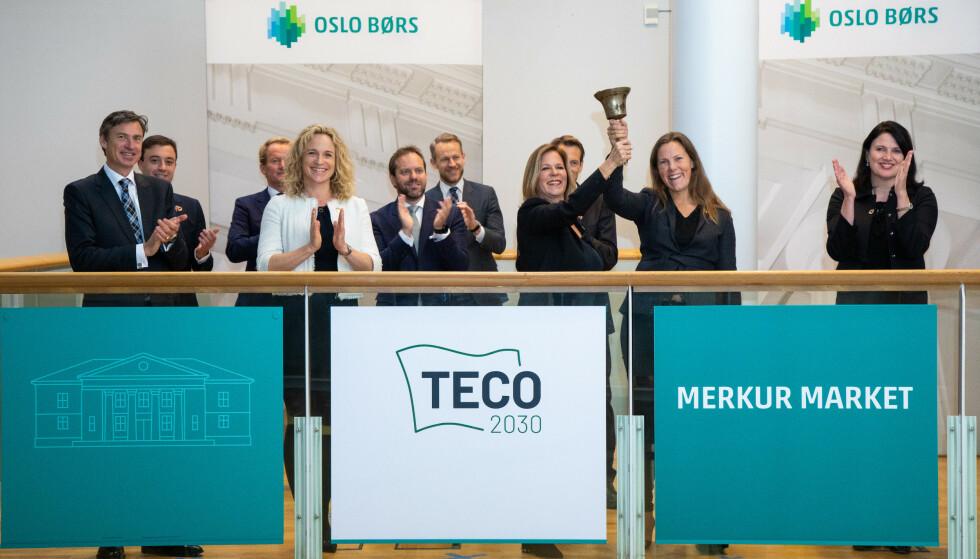 Selskapet Teco 2030 skal satse på produksjon av hydrogenbaserte brenselceller i Narvik. Foto: Thomas Brun / NTB