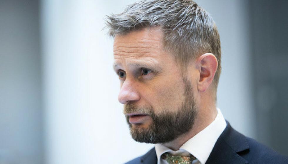 Helse- og omsorgsminister Bent Høie (H). Foto: Berit Roald / NTB