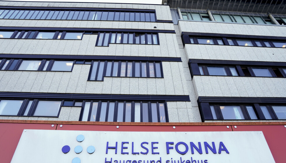 Tre pasienter er innlagt på intensiven på Haugesund sykehus med koronasmitte. En av disse er under 18 år. Nå innfører Helse Fonna gul beredskap. Foto: Jan Kåre Ness / NTBHaugesund 20200626. Haugesund sjukehus Foto: Jan Kåre Ness / NTB