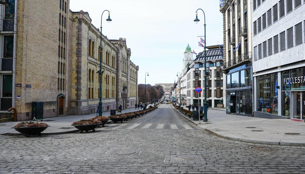 Rekordmange flyttet fra Oslo i fjor. Forskere peker på koronaeffekt. Foto: Lise Åserud / NTB