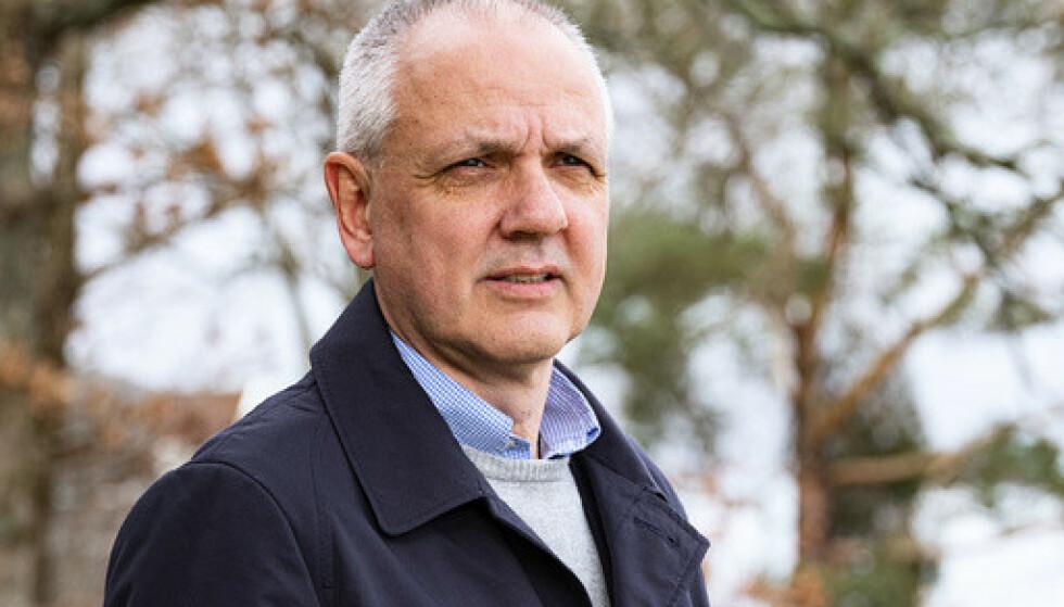 Overlege Preben Aavitsland i Folkehelseinstituttet sier de vil komme med en ny oppdatering om AstraZeneca-vaksinen fredag. Foto: Tor Erik Schrøder / NTB