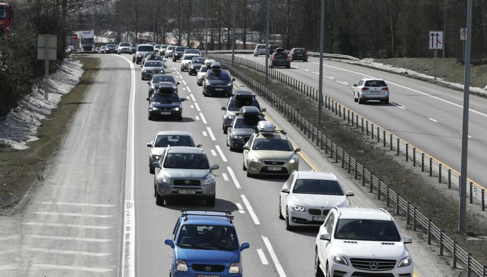 Med stengte grenser frykter Trygg Trafikk flere ulykker på veiene i påsken. Illustrasjonsfoto. Foto: Vidar Ruud / NTB