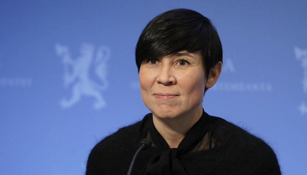 Utenriksminister Ine Eriksen søreide. Foto: Ole Berg-Rusten / NTB scanpix