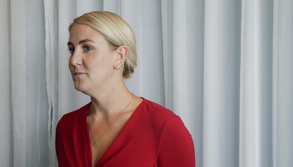 Tonje Brenna (Ap) er fylkesrådsleder i Viken, som har erklært arbeidslivskrise. Foto: Vidar Ruud / NTB