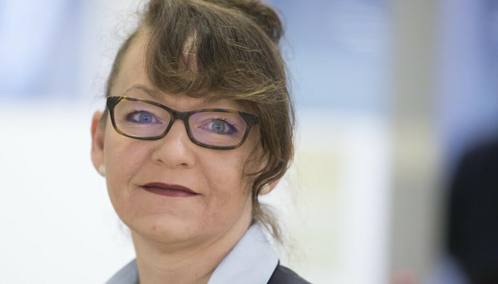 Line Miriam Sandberg har hatt en rekke sentrale verv og posisjoner i Frp, blant annet som statssekretær i Helse- og omsorgsdepartementet, men melder seg nå ut av partiet. Arkivfoto: Berit Roald / NTB