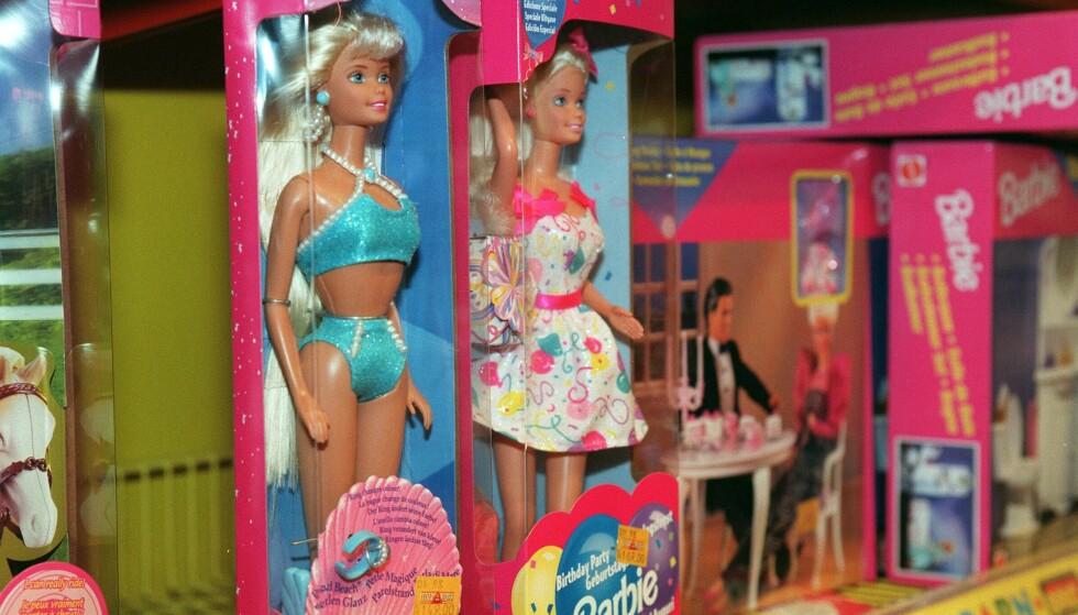 Produsenten bak Barbie, Mattel, har i årevis forsvart dukken sin og blant annet lansert henne i ulike yrker, for å vise hvor feministisk og likestilt hun er. Foto: Bjørn Sigurdsøn / NTB