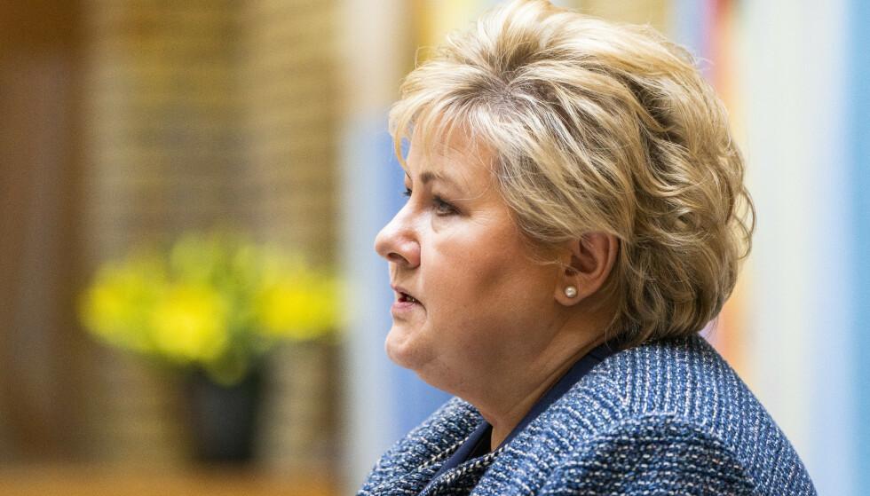 Politiet etterforsker om smittevernforskriften ble brutt av statsministeren og hennes familie da de var på Geilo i vinterferien. Foto: Håkon Mosvold Larsen / NTB