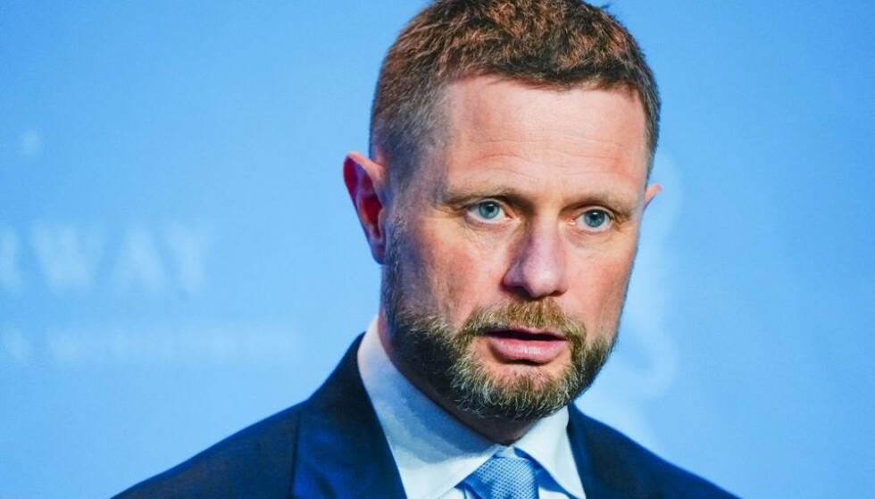 Bent Høie og Helsedepartementet har besluttet å lempe på tiltakene for flere kommuner der smittesituasjonen har stabilisert seg. Foto: Lise Åserud/NTB