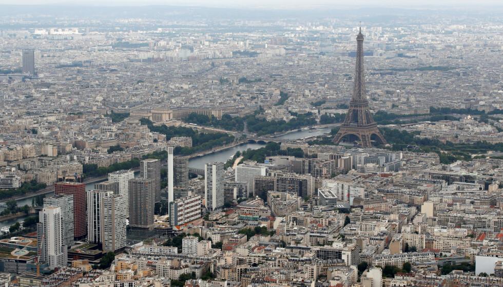 Paris. (Foto: Reuters/NTB)