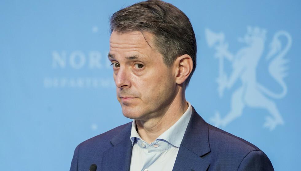 Administrerende direktør i Virke, Ivar Horneland Kristensen, mener vaksinepass kan bidra til å redde virksomheter og arbeidsplasser. Foto: Håkon Mosvold Larsen / NTB