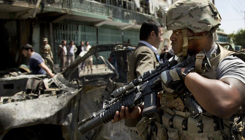 USA hadde på det meste 100.000 soldater i Afghanistan. Nå skal de siste 2.500 hentes hjem. Foto: AP / NTB