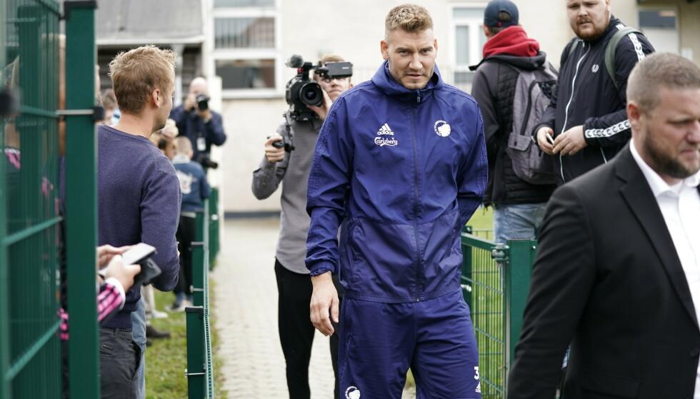Nicklas Bendtner møter i retten i slutten av april. Foto: Niels Christian Vilmann, NTB
