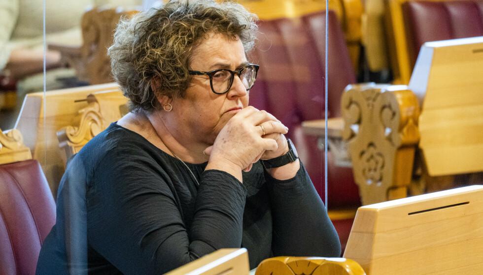 Landbruks- og matminister Olaug V. Bollestad (KrF) sier at hun er utrolig opptatt av at ungdom skal få sommerjobb. Foto: Håkon Mosvold Larsen / NTB
