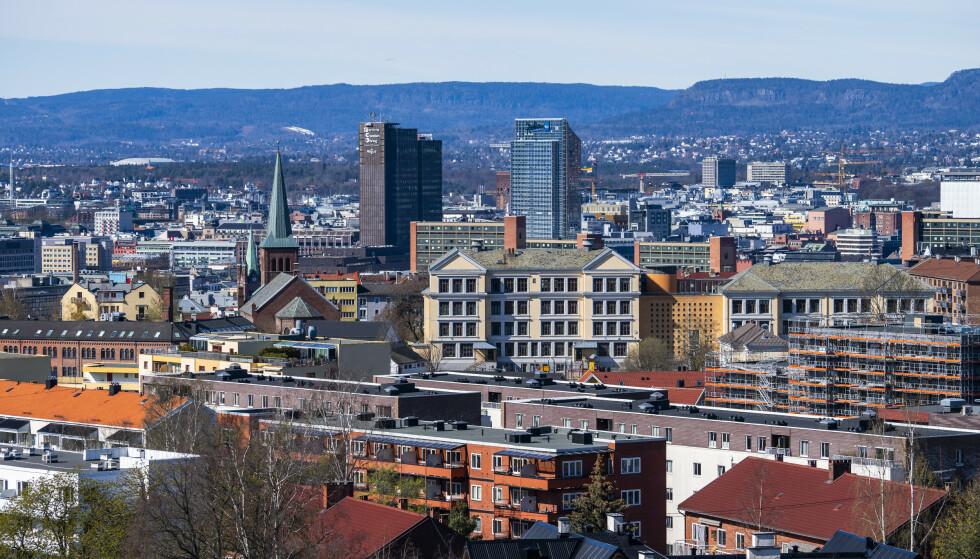 Boligprisene i Oslo var ved utgangen av mars 15,6 prosent høyere enn ett år tidligere. Det kan ha vært toppen for denne gang. Foto: Håkon Mosvold Larsen / NTB