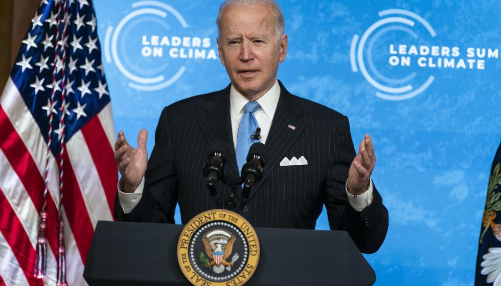 USAs president Joe Biden. Foto: Evan Vucci / AP / NTB