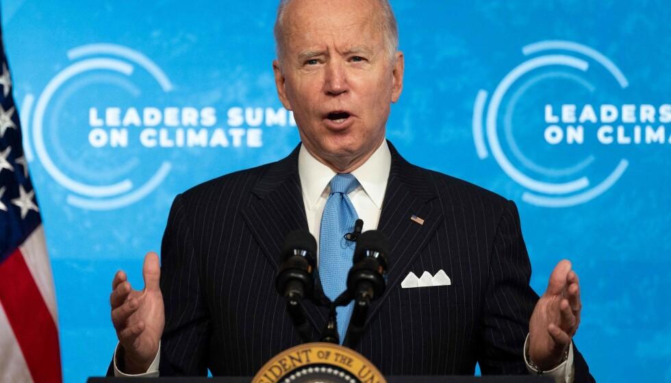 Joe Biden. (Foto: AFP/NTB)