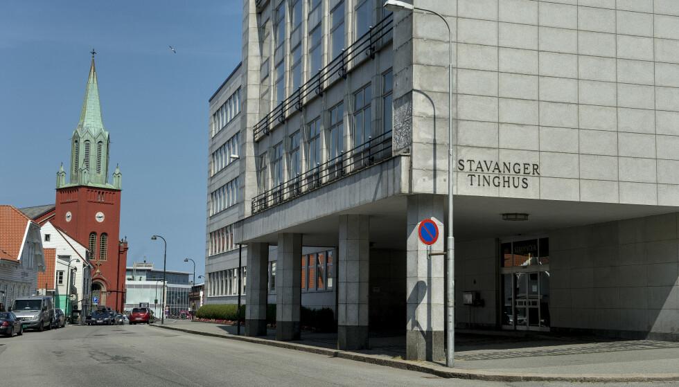 Rettssaken finner sted i Stavanger tinghus. Det er ett av rettsstedene i nye Sør-Rogaland tingrett, som er en sammenslåing av Dalane tingrett, Jæren tingrett og Stavanger tingrett. Foto: Carina Johansen / NTB