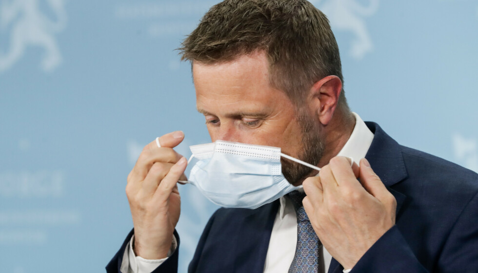 Helse- og omsorgsminister Bent Høie (H) har forståelse for at Oslo ønsker seg flere vaksinedoser. Foto: Berit Roald / NTB