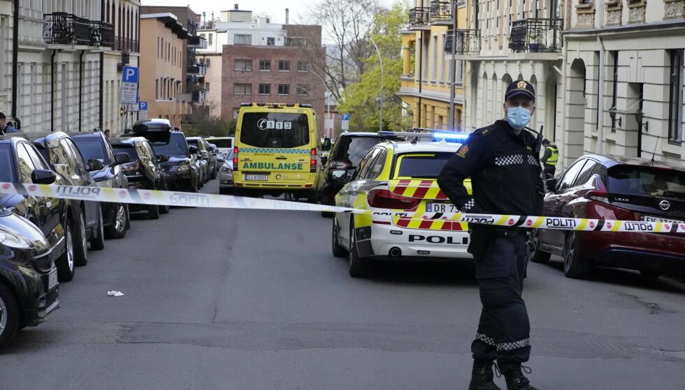 En kvinne er bekreftet død etter en skyteepisode på Frogner i Oslo. Foto: Heiko Junge / NTB