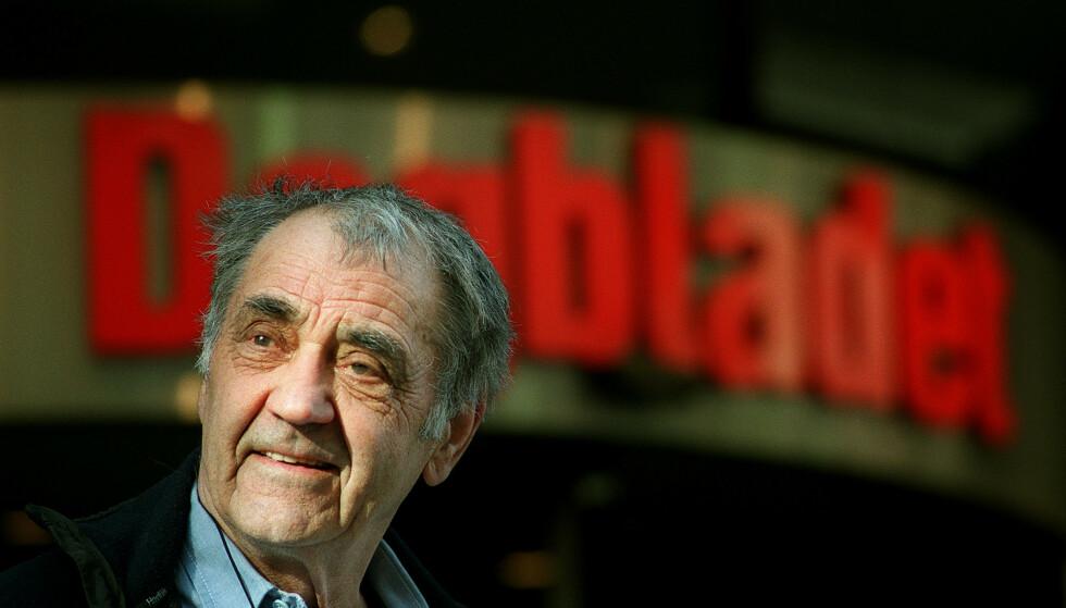 Pressefotograf Johan Brun er død, 98 år gammel. Foto: Jarl Fr. Erichsen / NTB