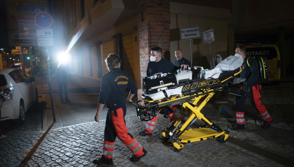 Fire funksjonshemmede pasienter ble drept av en ansatt ved et pleiehjem i Potsdam i Tyskland onsdag kveld. Foto: DPA / AP / NTB