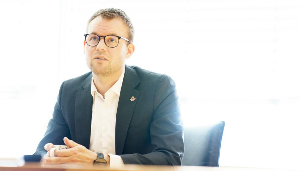 KrF-leder og barne- og familieminister Kjell Ingolf Ropstad har troen på at partiet skal klare å komme seg over sperregrensen i valget til høsten. Foto: Torstein Bøe / NTB
