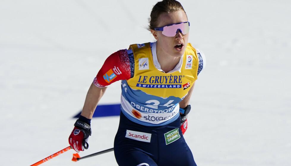 Ragnhild Haga må satse utenfor landslaget kommende sesong. Foto: Lise Åserud / NTB