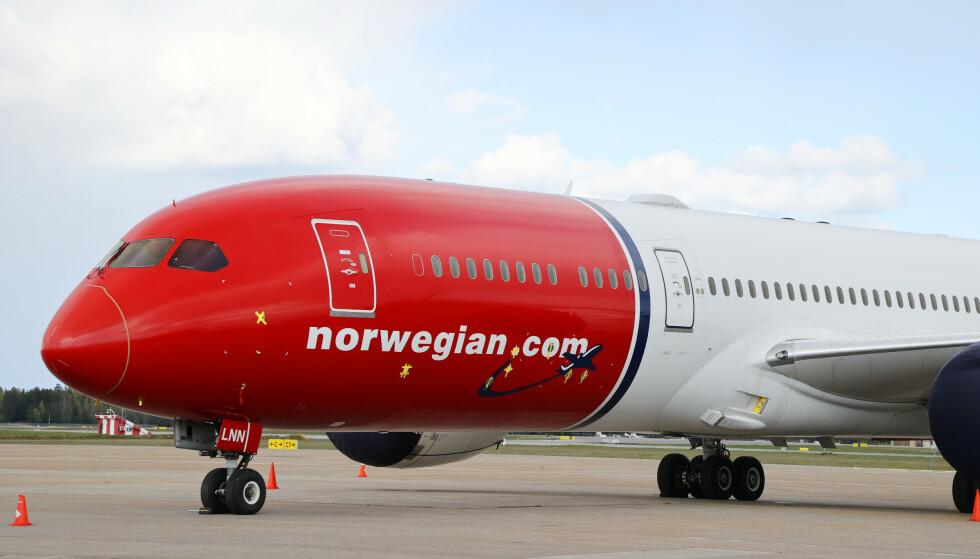 Norwegian har varslet fagforeningen om kraftige kutt i Spania, der 1.200 kabinansatte mister jobben. Illustrasjonsfoto: Ørn E. Borgen / NTB