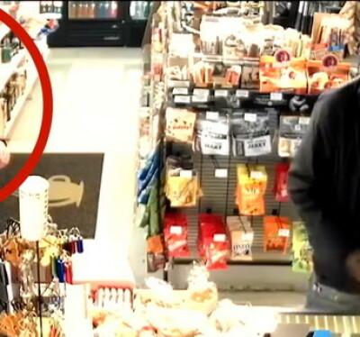 Image: Ser ikke politimannen