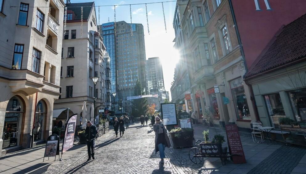 Malmö sentrum. (Illustrasjonsfoto: TT/AFP/NTB)