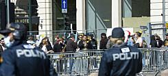 Seks personer bortvist fra Sian-markering i Oslo: – Aggressiv stemning