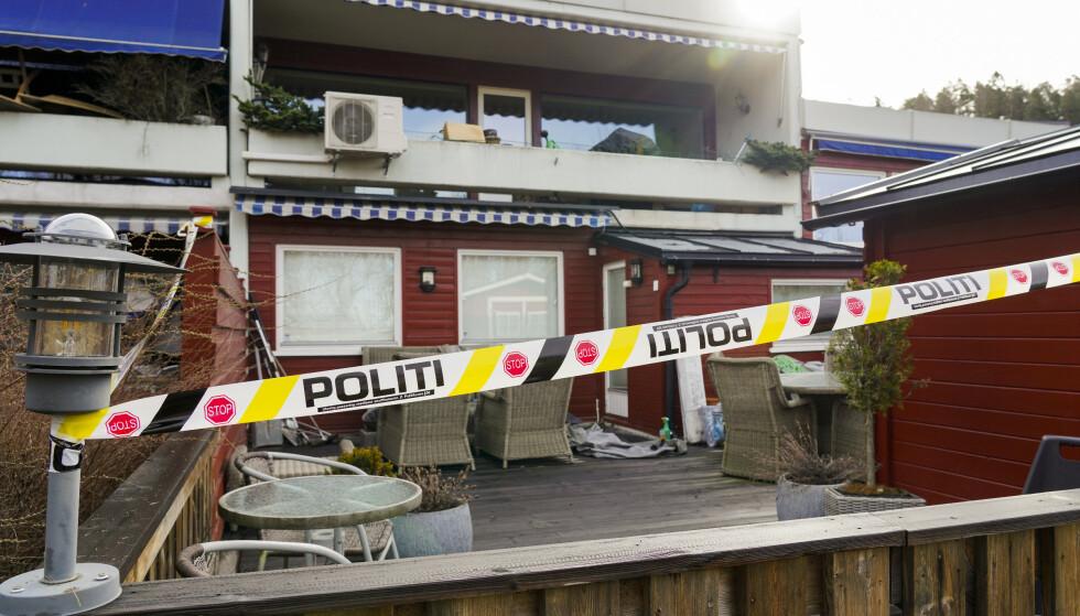 Advokat Tor Kjærvik ble drept på Røa i Oslo mandag 12. april. Hans 36 år gamle sønn er siktet for drapet. Foto: Ole Berg-Rusten/NTB