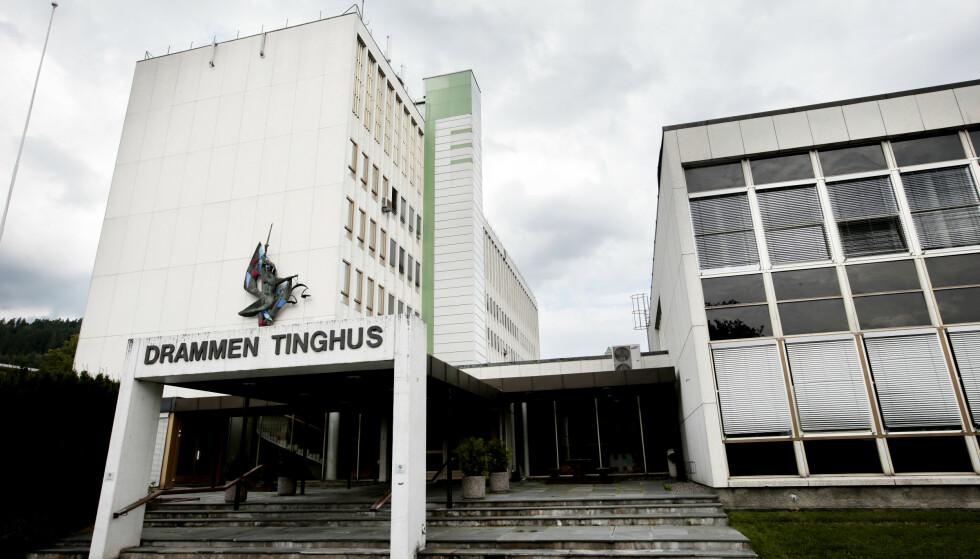 Dommen mot 24-åringen falt i Drammen tingrett. Foto: Lise Åserud/NTB