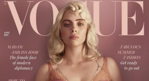 Image: Billie Eilish om reaksjonane etter Vogue-framsida: – Skummelt