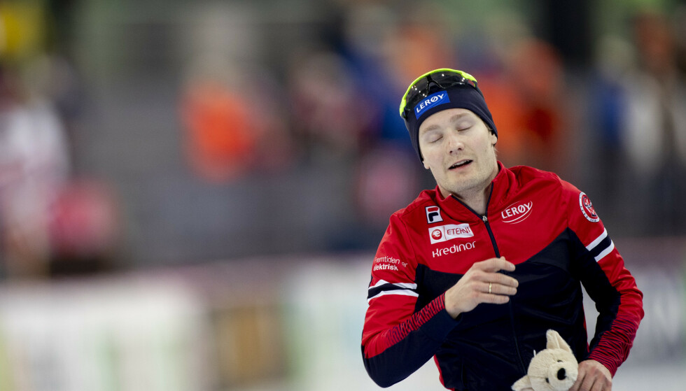 Sverre Lunde Pedersen var involvert i en sykkelulykke torsdag. Foto: Geir Olsen / NTB