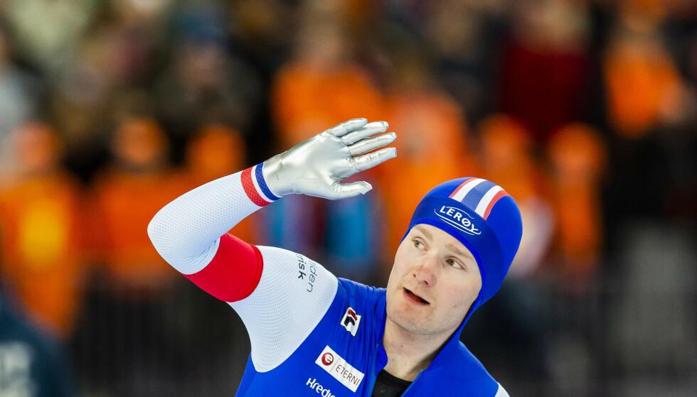 Sverre Lunde Pedersen ble operert fredag kveld for skadene han pådro seg i en sykkelulykke. Foto: Fredrik Varfjell / NTB