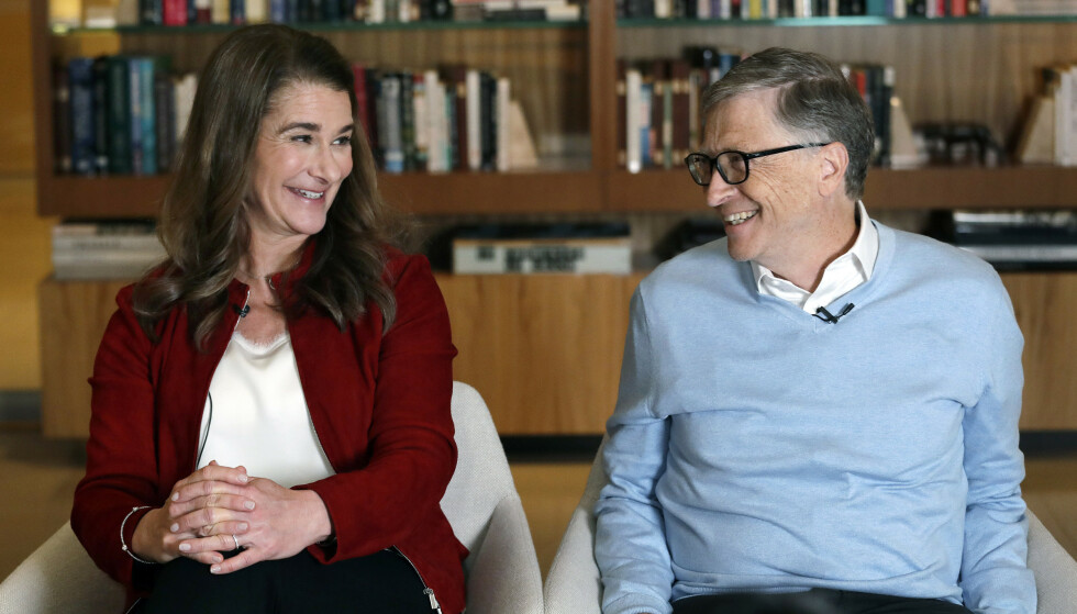 I starten av mai opplyste Bill og Melinda Gates at de skilles, men at de fortsatt vil drive stiftelsen de har opprettet sammen. Arkivfoto: Elaine Thompson / AP / NTB